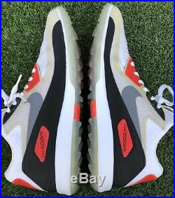 Mens Nike Zoom 90 It Golf Shoes 11 Infrared White Vapor Rory Tw Spikeless XI