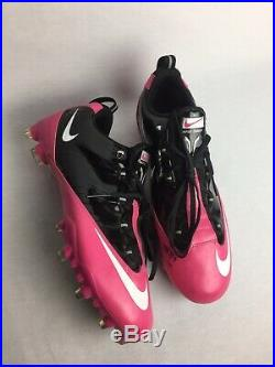 New Nike Zoom Vapor Carbon Flywire TD Football Cleats White/Red 396256 006 Sz 14