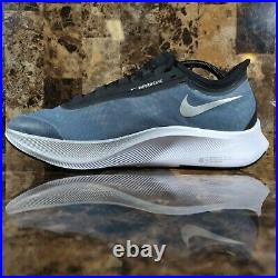 Nike Air Zoom Fly 3 Vaporweave Blue/Silver Running Shoe AT8240-401 Mens Size 12