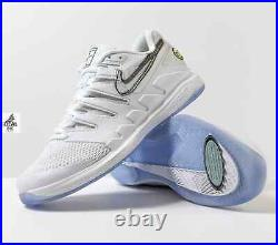 Nike Air Zoom Vapor X Nadal'White Canary' Tennis Shoes AA8030-104 Men's Size 9