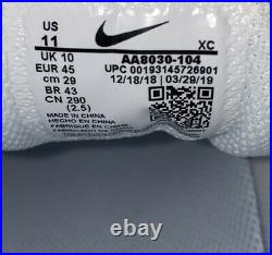 Nike Air Zoom Vapor X Nadal'White Canary' Tennis Shoes Men Size 11 AA8030-104