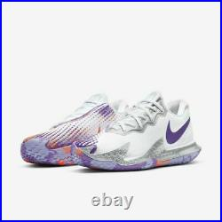 Nike Women's Court Air Zoom Vapor Cage 4 Tennis Shoes White CD0431-103 NEW