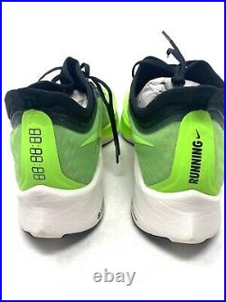 Nike Zoom Fly 3 Vapor Weave Running Shoes Electric Green AT8240-300 Size 11