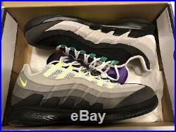 Nike Zoom Vapor Roger Federer X Air Max 95 Greedy Size 9.5 Brand New In Box