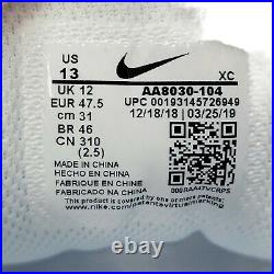 NikeCourt Air Zoom Vapor X White Canary Tennis Shoes AA8030-104 Mens Size 13